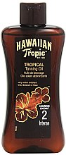 Parfüm, Parfüméria, kozmetikum Barnulást elősegítő lotion - Hawaiian Tropic Sun Tan Oil Intense SPF 2