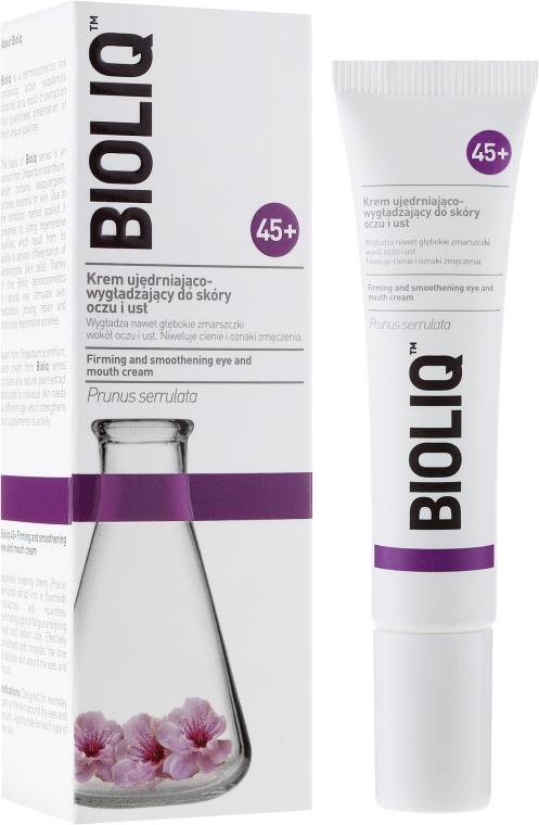 Bőrfeszesítő krém szemre és szájra - Bioliq 45+ Firming And Smoothening Eye And Mouth Cream
