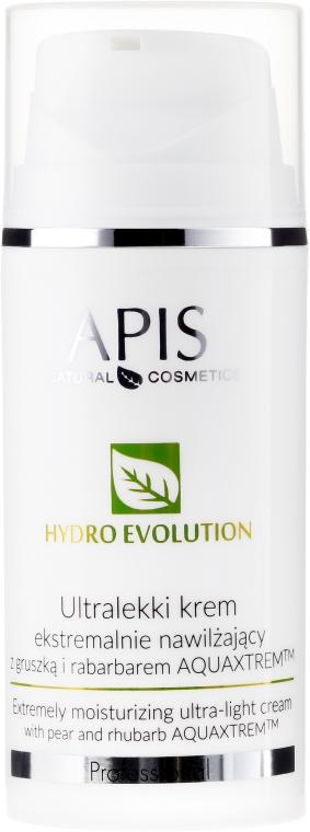 Extrém hidratáló ultrakönnyű krém körtével és rebarbarával - APIS Professional Hydro Evolution Extremely Moisturizing Ultra-Light Cream