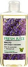 """Parfüm, Parfüméria, kozmetikum Testápoló és masszázsolaj """"Menta és levendula + mandula olaj"""" - Fresh Juice Energy Mint&Lavender+Almond Oil"""