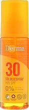 Parfüm, Parfüméria, kozmetikum Napvédő olaj - Derma Sun Sun Oil SPF30 High