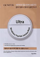 Parfüm, Parfüméria, kozmetikum Peptides szövetmaszk - Glamfox Ultra Wrinkleless Peptide Solution Mask