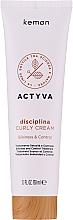 Parfüm, Parfüméria, kozmetikum Krém hullámos hajra - Kemon Actyva Disciplina Curly Cream
