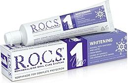 "Parfüm, Parfüméria, kozmetikum Fogkrém ""Fehérítés"" - R.O.C.S. Uno Whitening"