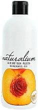 "Parfüm, Parfüméria, kozmetikum Tápláló krém-gél tusfürdő ""Őszibarack"" - Naturalium Bath And Shower Gel Peach"