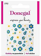 Parfüm, Parfüméria, kozmetikum Körömdíszítő matricák, 3702 - Donegal