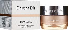 Parfüm, Parfüméria, kozmetikum Világosító és fiatalító nappali krém - Dr. Irena Eris Lumissima Brightening & Anti-Aging Day Cream SPF 20