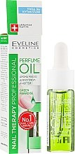 Parfüm, Parfüméria, kozmetikum Körömágybőr és körömápoló aromaolaj - Eveline Cosmetics Nail Therapy Professional Green Paradise