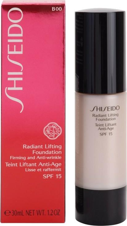 Lifting hatású tonizáló szer - Shiseido Radiant Lifting Foundation SPF 15 — fotó N1