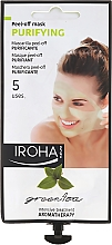 Parfüm, Parfüméria, kozmetikum Arcmaszk - Iroha Nature Green Tea Purifying Peel-Off Mask