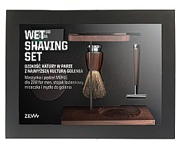 Parfüm, Parfüméria, kozmetikum Szett - Zew For Men Wet Shaving Set (soap/85ml + razor/1psc + sh/brush/1pcs + sh/cup/1pcs + sh/stand/1pcs)
