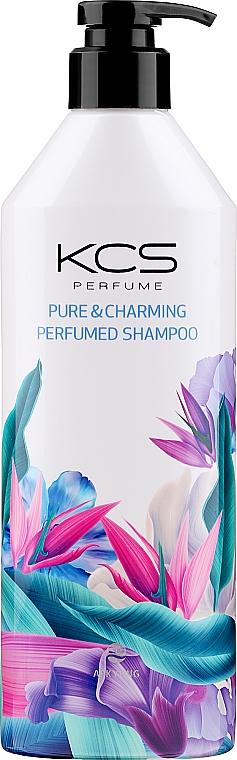 Illatosított sampon száraz, sérült hajra - KCS Pure & Charming Perfumed Shampoo