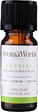 Parfüm, Parfüméria, kozmetikum Illóolaj keverék - AromaWorks Inspire Essential Oil