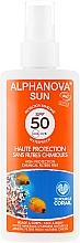 Parfüm, Parfüméria, kozmetikum Védő permet - Alphanova Sun Protection Spray SPF 50