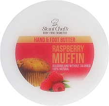 "Parfüm, Parfüméria, kozmetikum Krém kézre és lábra ""Málnás muffin"" - Hristina Cosmetics Stani Chef's Raspberry Muffin Hand & Foot Butter"