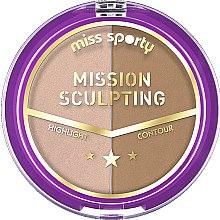 Parfüm, Parfüméria, kozmetikum Bőrvilágosító paletta - Miss Sporty Mission Sculpting
