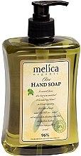 Parfüm, Parfüméria, kozmetikum Folyékony szappan olíva kivonattal - Melica Organic Olive Liquid Soap