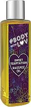 """Parfüm, Parfüméria, kozmetikum Masszázsolaj """"Édes csabítás"""" - New Anna Cosmetics Body With Luv Massage Oil Sweet Temptation"""