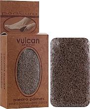 Parfüm, Parfüméria, kozmetikum Habkő, 84x44x32mm, Terracotta Brown - Vulcan Pumice Stone
