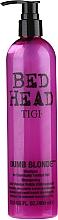 Parfüm, Parfüméria, kozmetikum Sampon világosított és sérült hajra - Tigi Bed Head Dumb Blonde Shampoo