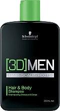 Parfüm, Parfüméria, kozmetikum Sampon hajra és testre - Schwarzkopf Professional 3D Mension Hair & Body Shampoo