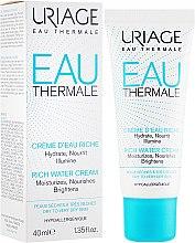 Parfüm, Parfüméria, kozmetikum Gazdagított hidratáló krém - Uriage Eau Thermale Rich Water Cream