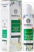 """Parfüm, Parfüméria, kozmetikum Nappali arckrém """"Havas gomba"""" zsíros és kombinált bőrre - Markell Cosmetics Skin&City Face Cream"""