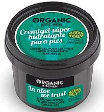 """Parfüm, Parfüméria, kozmetikum Lábápoló krém """"Aloe vera"""" - Organic Shop Organic Kitchen Foot Cream-Gel"""