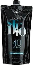 Parfüm, Parfüméria, kozmetikum Színelőhívó szőke hajra 12% - L'Oreal Professionnel Blond Studio Creamy Nutri-Developer Vol.40