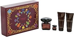 Parfüm, Parfüméria, kozmetikum Versace Crystal Noir - Szett (edt/90ml + edt/mini/5ml + sh/gel/100ml + b/lot/100ml)