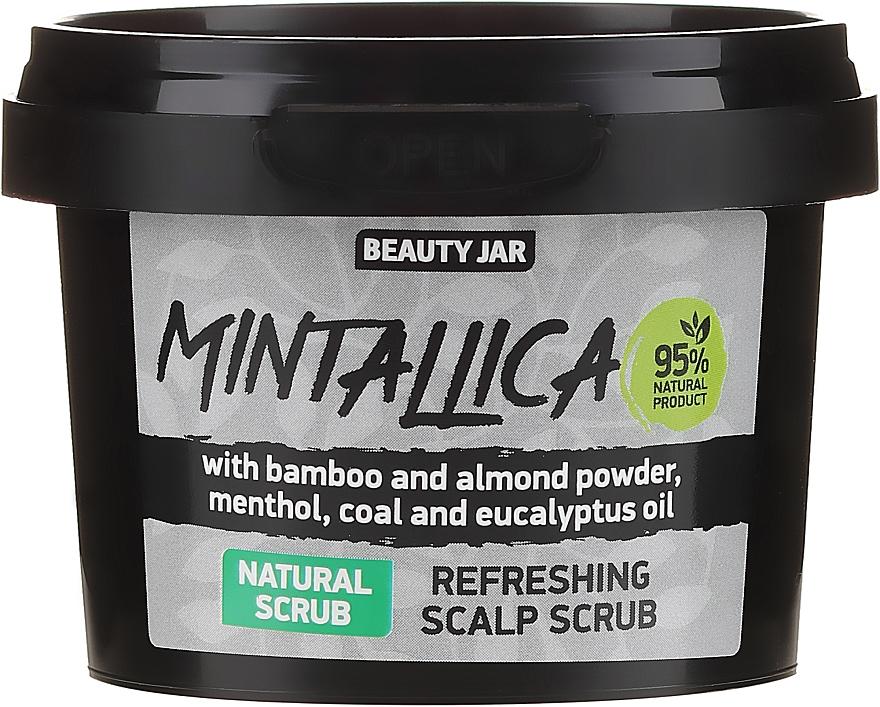 Frissítő fejbőrradír - Beauty Jar Mintallica Refreshing Scalp Scrub