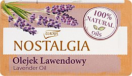 "Parfüm, Parfüméria, kozmetikum Szappan ""Levendula olaj"" - Luksja Nostalgia Lavender Oil Soap"