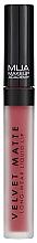 Parfüm, Parfüméria, kozmetikum Folyékony ajakrúzs - MUA Academy Velvet Matte Long-Wear Liquid Lip (Dash)