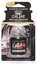 Parfüm, Parfüméria, kozmetikum Zselés illatosító - Yankee Candle Car Jar Ultimate Black Coconut