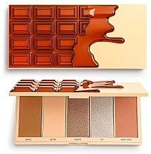 Parfüm, Parfüméria, kozmetikum Smink paletta - I Heart Revolution Chocolate Face Palette Waffle