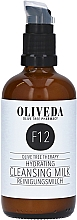 Parfüm, Parfüméria, kozmetikum Tisztító, hidratáló tej - Oliveda F12 Cleansing Milk Hydrating