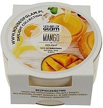Parfüm, Parfüméria, kozmetikum Illatosított gyertya - House of Glam Mango Delight Candle (mini)