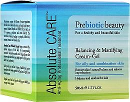 Parfüm, Parfüméria, kozmetikum Kiegyenlítő és mattító hatású krém-gél - Absolute Care Prebiotic Beauty Balancing&Mattifying Cream-Gel