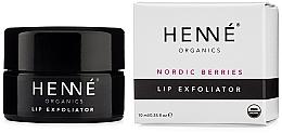 Parfüm, Parfüméria, kozmetikum Hámlasztó ajakra - Henne Organics Nordic Berries Lip Exfoliator