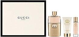 Parfüm, Parfüméria, kozmetikum Gucci Guilty Pour Femme - Parfüm szett (edp/90+ b/l/50 + edp/15)