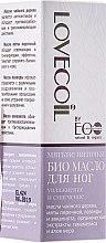 """Parfüm, Parfüméria, kozmetikum Lábápoló Bio-olaj """"Hidratáló és puhító"""" - ECO Laboratorie Lovecoil Foot Bio Oil"""