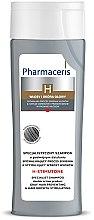 Parfüm, Parfüméria, kozmetikum Hajnövekedés serkentő sampon ősz hajra - Pharmaceris H-Stimutone Specialist Shampoo Gray Hair Preventing & Hair Growth Stimulating