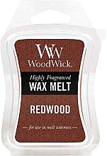 Parfüm, Parfüméria, kozmetikum Aroma viasz - WoodWick Wax Melt Redwood