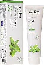 Parfüm, Parfüméria, kozmetikum Fogkrém menta kivonattal - Melica Organic