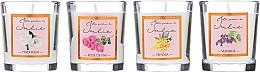 Parfüm, Parfüméria, kozmetikum Illatgyertya készlet - Ambientair Le Jardin de Julie