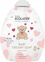 Parfüm, Parfüméria, kozmetikum Baba krémszappan - Ecolatier Baby Creamy Soap (utántöltő)