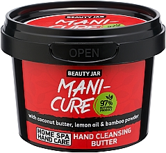 Parfüm, Parfüméria, kozmetikum Kéztisztító vaj - Beauty Jar Mani-Cure Hand Cleansing Butter