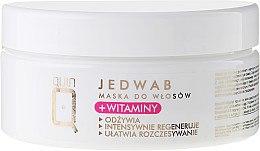 Parfüm, Parfüméria, kozmetikum Hajmaszk selyemmel és vitaminnal - Silcare Quin Silk & Vitamins Hair Mask