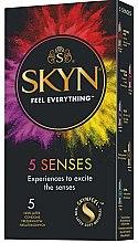 Parfüm, Parfüméria, kozmetikum Óvszer, 5db - Unimil Skyn 5 Senses