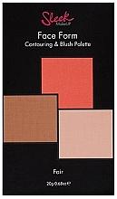 Parfüm, Parfüméria, kozmetikum Kontúrozó paletta - Sleek Makeup Face Form Ultimate Contour Kit Fair